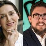 Paola Pellerano y Sebastián Saavedra